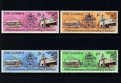 Gambia - 1966 - Founding Of Bathurst - Mint Set Of 4!