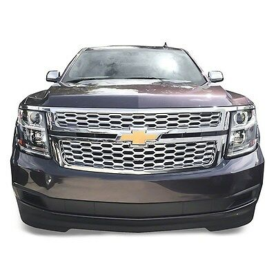 Chrome Grille Overlay FITS 2015 2016 2017 2018 2019 Chevy Tahoe Suburban LS / LT