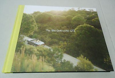 "Bentley ""the New Continental Gtc"" Hardback Dealer Brochure Book"
