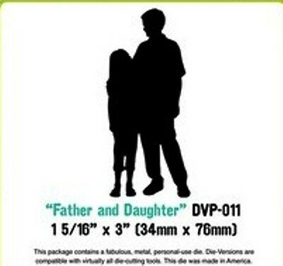 Father & Daughter die - for use in most cutting systems