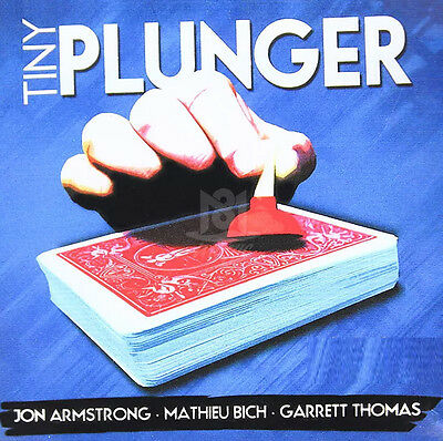 Tiny Plunger by Jon Armstrong MathieuBich and GarrettThomas Magic Trick Gimmick
