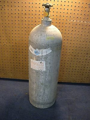 Coca Cola Coke LUXFER Commercial Large CO2 Tank for Soda Dispenser System
