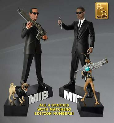 Hollywood Collectibles Group Exclusive Men In Black Set (all 4 statues)