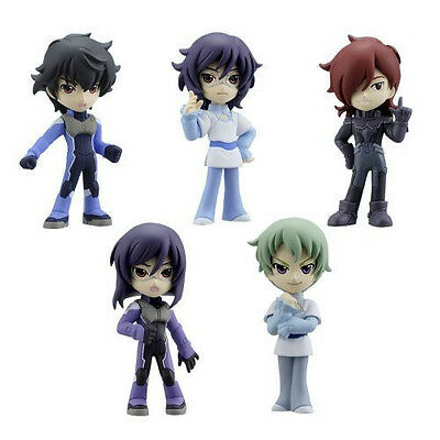 Chibi Voice Gundam 00 2nd Season Vol 2 COMPLETE SET