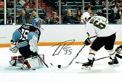 Tyler PLANTE NHL Ice HOCKEY Florida Panthers Signed Autograph Photo AFTAL COA