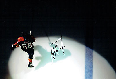 #68 Mike DUCO Ice HOCKEY FLORIDA Panthers Signed Autograph RARE Photo AFTAL COA