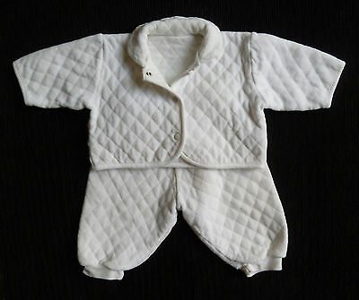 Baby clothes UNISEX BOY GIRL 0-3m Mothercare 2-piece pramsuit COMBINE POSTAGE!
