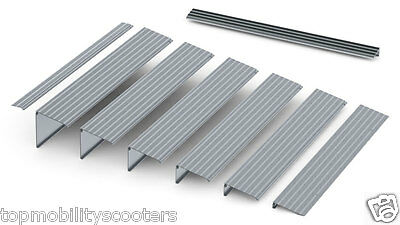 EZ Access TRANSITIONS Modular Entry Portable Accessible Aluminum RAMP Treshold