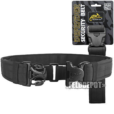 Helikon Tex Defender Security Belt Black Einsatzgürtel taktischer Hosengürtel