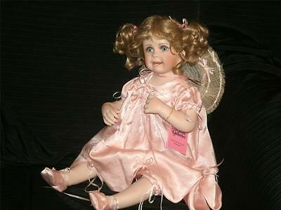 """GORGEOUS Paradise Galleries Abbie Doll By Linda Murray 23"""" Porcelain"""