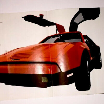 Amazing Gold Cover Bricklin Auto Collectable Booklet!!