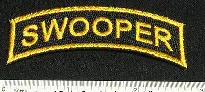 Set of 2 SWOOPER Patches for Skydiving Parachute Container t-Shirt Cap Rig 25Q