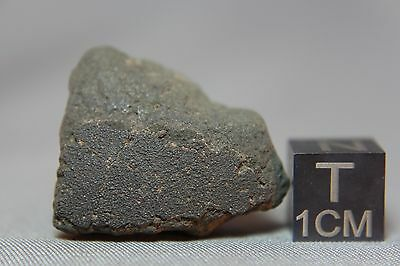 Jbilet Winselwan CM2 Meteorite 5.42 grams with a section of fusion crust