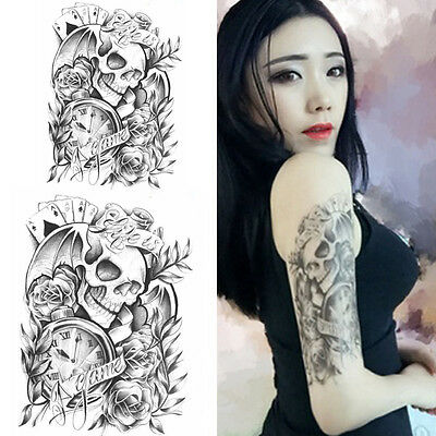 Waterproof Body Makeup Shoulder Temporary Tattoo Sticker Stickers Removable