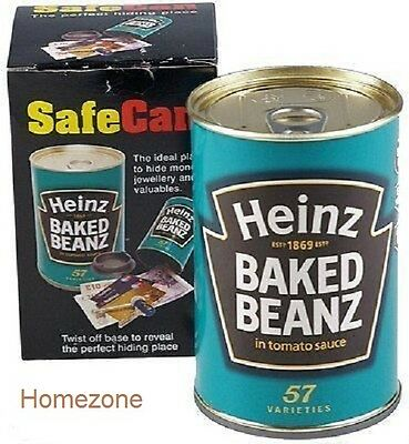 Heinz Security Safecan Baked Bean Fake Can Cash Money Trendy Box Tin Sterling