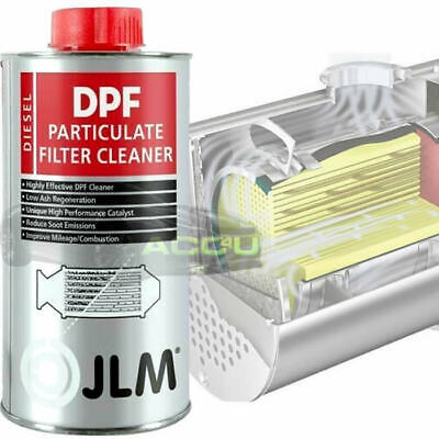 JLM Car Van 4x4 DPF Diesel Engine Particulate Filter Cleaner Fluid 375ml