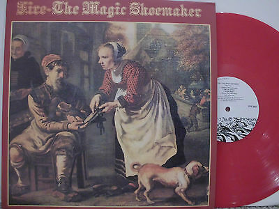 FIRE The magic shoemaker 1970 UK TAPESTRY re PROG PSYCH  LP red vinyl