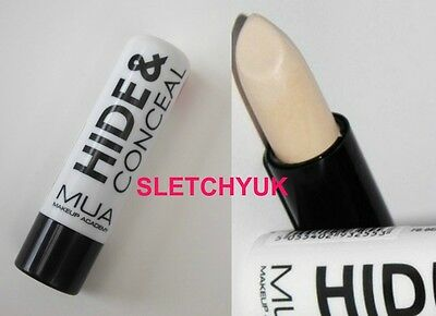 MUA Makeup Academy Hide And Conceal Concealer Stick In Shade Fair 3g New/Sealed