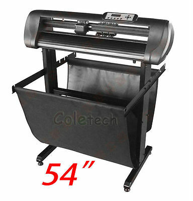 Sign Making Vinyl Cutter Plotter 1350mm with Optical Eye,Flexi 10 and Stand