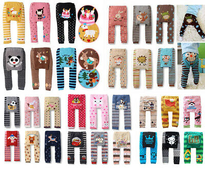 Baby Toddler Boys Girls Cotton Animal Leggings PP Pant 69 model 0-36 Months