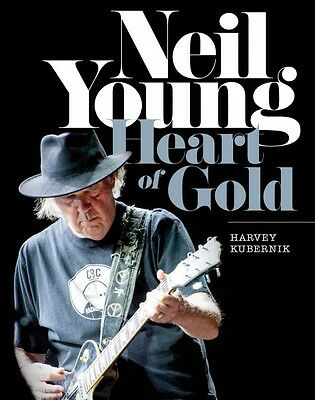 Neil Young Heart of Gold Book Hardcover NEW 000138576