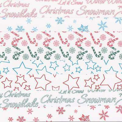 8 A4 Sheets of Assorted Christmas Card New