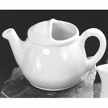 Diversified Ceramic Lidless English Teapot, 16 Ounce - Standard Color -- 12 per