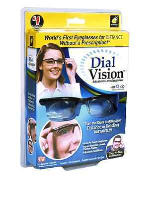 Dial Vision Occhiali Regolabili Lenti Da Vista Offerta Visto In Tv On Seen • EUR 9,99