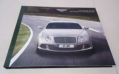 Bentley Continental Gt And Continental Gt Convertible W12 Dealer Brochure Book