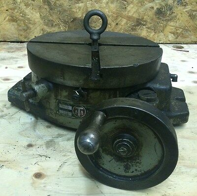 "Troyke Mfg Company 12"" Rotary Table Model BH 12"