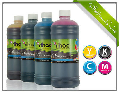 4 x 1 litre RIHAC Refill ink for CISS suits canon PGI-650 & CLI-651 Cartridge