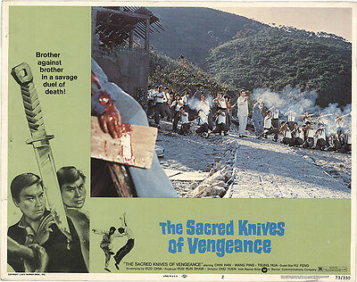 The Sacred Knives of Vengeance 1973 Original Movie Poster Action Adventure