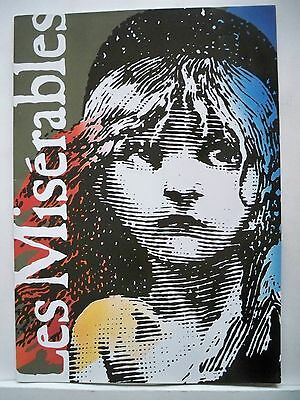 LES MISERABLES Souvenir Program HUGO / BOUBLIL / SCHONBERG London 1996