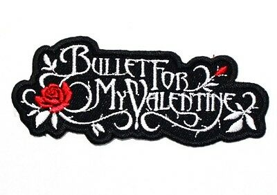 Bullet for my Valentine Welsh Heavy Metal Rock Punk Band Shirt bag Iron on Patch