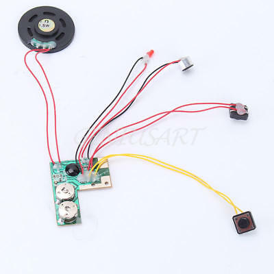 10s 10 Seconds Sound record  push button play device voice module Chip for Card