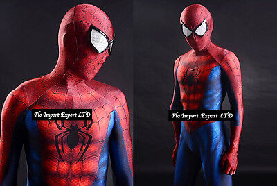 Amazing Spiderman Costume Carnevale Dress up Cosplay Costume SPM001
