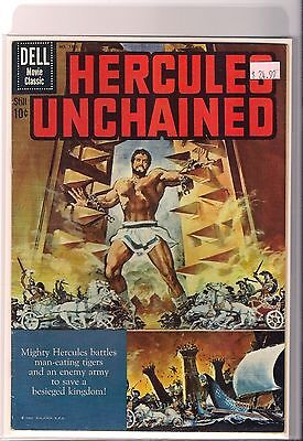 Dell Four Color # 1121 Hercules Unchained Galatea F Cr/OW