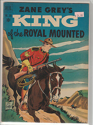 Dell Four Color # 340 Zane Grey's King  of the Royal Mountain F+