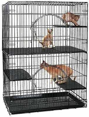 ProSelect Plastic Cat Deluxe Platforms, Set of 3 - NEW (No Cage Included)