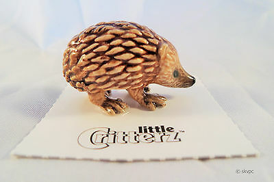 Little Critterz TIGGY HEDGEHOG Collectible Gift Hand-painted Mini Figurine LC122