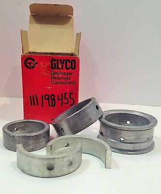 NOS Glyco Main Bearings For VW 25 & 36hp 111198455 0.50