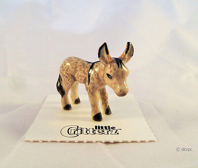 Little Critterz DUFFY DONKEY Collectible Gift Hand-painted Mini Figurine LC702