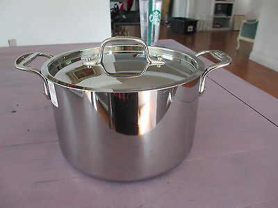 All Glad stainless steel stock pot New