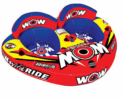 WOW Watersports WILD RIDE - Inflatable Tube Biscuit Water Toy