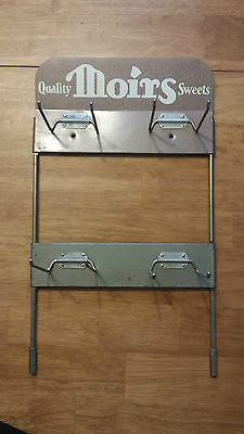 Vintage MOIRS Canada Display Store Rack