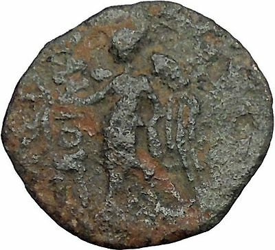 ELAIUSSA in CILICIA 1stCenBC Zeus Nike Authentic Ancient Greek Coin i50335