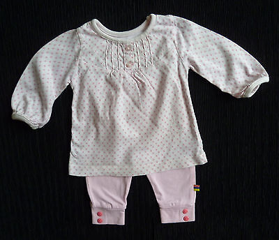 Baby clothes GIRL 0-3m Mothercare outfit pink floral top long sleeve/leggings