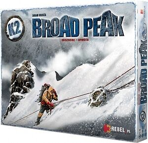 K2: Broad Peak Board Game Extension (mountaineering, climbing, accessories gift)