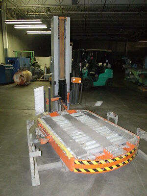 Spiropack Series Model R-125  Stretch Wrap Pallet Wrapper Wrapping Machine