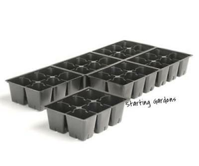 Seed Tray, (Qty. 600) 6 Cell Trays, 3600 cells, Seedling Trays, 606  Inserts